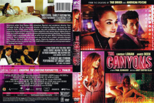 the canyons dvd cover