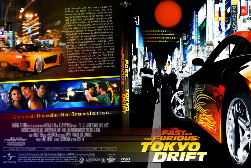 Fast And Furious 3 Full Movie >> The Fast And The Furious Tokyo Drift 2006 R1 Movie Dvd