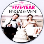 The Five Year Engagement (2012) R0 Custom DVD Label