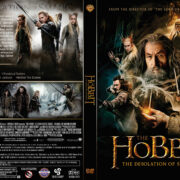 The Hobbit The Desolation Of Smaug (2013) R1 Custom DVD Covers