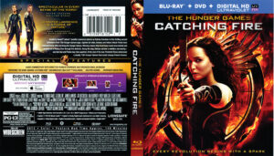 The Hunger Games Catching Fire blu-ray dvd cover