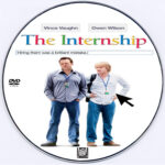 The Internship (2013) Custom DVD Label