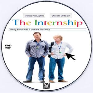 The Internship 2013 dvd label