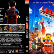 The Lego Movie (2014) R1 Custom DVD Cover