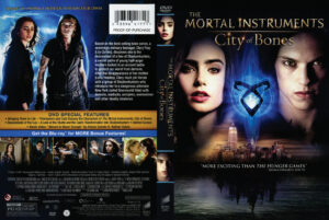 the mortal instruments city of bones dvd cover