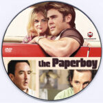 The Paperboy (2012) R0 Custom DVD Label