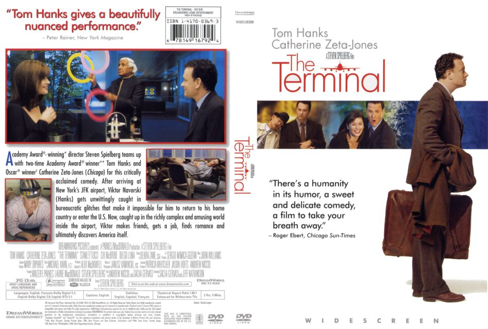 The Terminal 2004 R1 Movie Dvd Cd Label Dvd Cover Front Cover