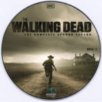 The Walking Dead (2011) Season 2 - CD Labels