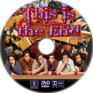 this is the end cd cover