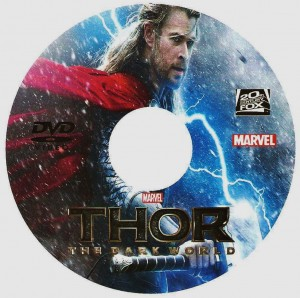 Thor 2 the dark world custom disc 001