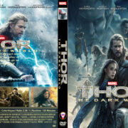 Thor The Dark World (2013) R0 Custom Front DVD Cover