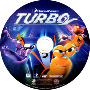 Turbo dvd label