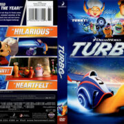 Turbo (2013) R1 DVD Cover