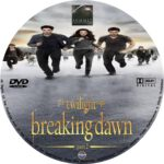 Twilight Breaking Dawn Part 2 (2012) R0 Custom Blu-ray/DVD Labels