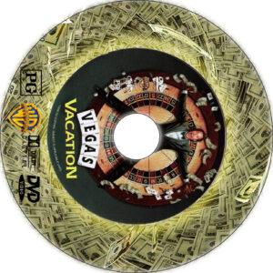vegas vacation dvd label