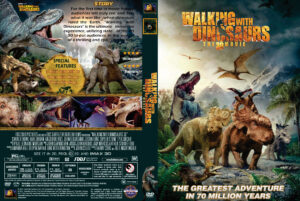 walking with dinosaurs 3d dvd cover