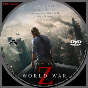 World War Z (2013) R0 CUSTOM CD