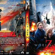 World War Z (2013) R1 CUSTOM DVD Cover