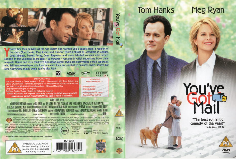 You Ve Got Mail 1998 Ws R2 Movie Dvd Cd Label Dvd Cover Front Cover