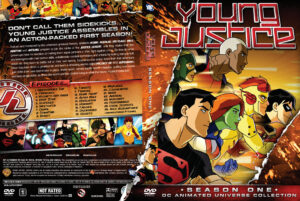young justice dvd cover