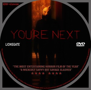 You're Next (2013) R0 CUSTOM CD