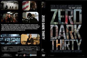 Zero Dark Thirty (2012) Front Custom