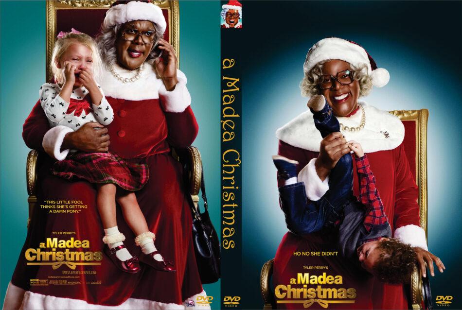 Madeas Christmas.A Madea Christmas 2013 R0 Custom Dvd Cover