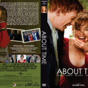 About Time (2013) R1 Custom DVD Cover