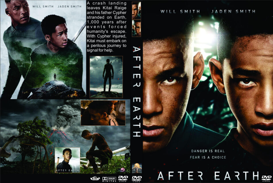 After Earth 2013 R0 Custom Movie Dvd Front Dvd Cover