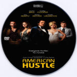 American Hustle (2013) Custom CD Cover