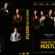 American Hustle (2013) Custom DVD Label