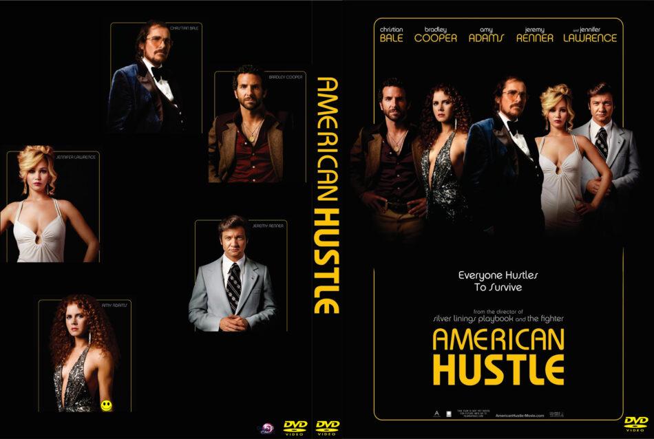 American Hustle Dvd Label 2013 Custom Art