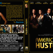 American Hustle (2013) R1 Custom DVD Cover
