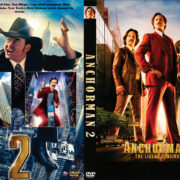 Anchorman 2: The Legend Continues (2013) R0 Custom DVD Cover