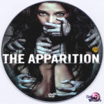 The Apparition (2012) R0 Custom DVD Label