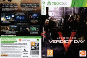 armored core verdict day dvd cover