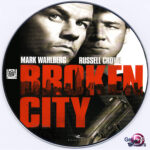 Broken City (2013) R0 Custom DVD Label