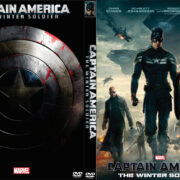 Captain America: The Winter Soldier (2014) Custom DVD Cover