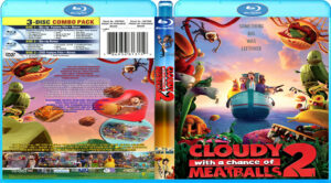 cloudy with a chance of meatballs 2(2013) R1 (Blu-Ray Movie)