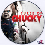 Curse Of Chucky (2013) Custom DVD Label
