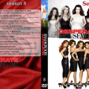Desperate Housewives: Seasons 1-2-3-4-5-6-7-8 Front DVD covers