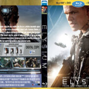 Elysium (2013) R2 (Blu-Ray Movie) Custom