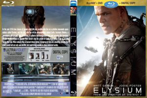 elysium (2013) R2 (Blu-Ray Movie  )