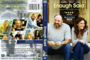 enough said dvd cover