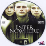 Enter Nowhere (2011) R0 Custom DVD label