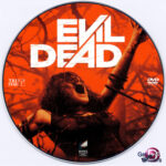 Evil Dead (2013) R0 Custom DVD Label