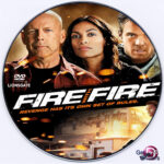 Fire With Fire (2012) R0 DVD Lavel