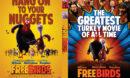 Free Birds (2013) R0 Custom DVD Cover
