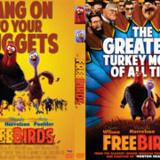 Free Birds (2013) R0 Custom DVD Cover