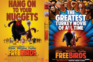 free birds dvd cover